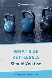 Kettlebell Sizes Chart What Size Kettlebell To Use Save Time And Money