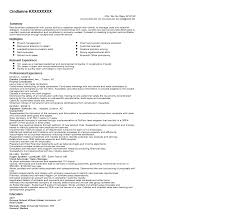 Project Coordinator Resume Samples Resume For Study