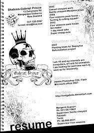 Resume Artist Resume Samples