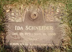 Ida Hoff Schneider (1919-2000) - Find A Grave Memorial