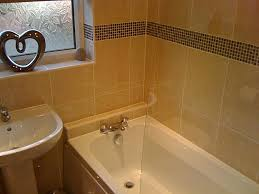 Bathroom Mosaic Tile Borders Mesmerizing Interior Design Ideas