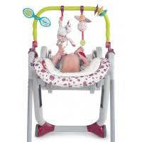 <b>Набор</b> для стульчика <b>Chicco</b> Polly Progress 5: дуга с игрушками и ...
