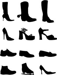 Vectors Silhouettes Shoe Vectors Silhouettes Free Vector In Adobe Illustrator Ai Ai