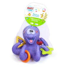 Осьминог, <b>игрушка для ванны</b>, BATH4 (<b>Fancy</b>) – ДетствоГрад