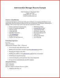 Administrative Manager Resume Sample Administrative Services Manager Resume Sample Director Example 24