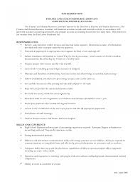 Hr Generalist Job Description Template Resume Human Resources