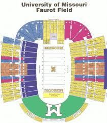 Mizzou Stadium Seating Chart 22 Competent Mizzou Faurot Field Seating Chart