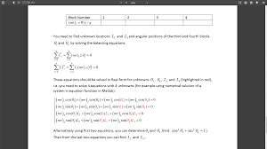 solving a system of 4 non linear equations with 4 unknowns matlab answers matlab central