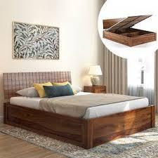 Wooden furniture design bed Solid Wood Valencia Bed Urban Ladder Bed Designs Buy Latest Modern Designer Beds Urban Ladder