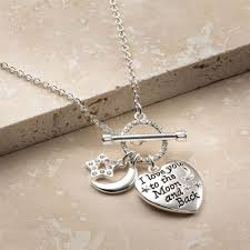 details about daniella i love you to the moon and back necklace by avon new in gift envelope