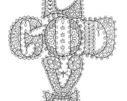 Small Picture View CHRISTIAN COLORING PAGES by ChubbyMermaid on Etsy