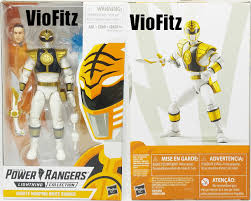Mighty Morphin Power Rangers White Light Part 1 Review Hasbro Lightning Collection Mighty Morphin White