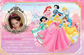 disney princess invitation template com invitations templates disney princess birthday invitation images about invite on