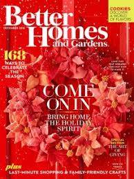 Small Picture Better Homes and Gardens Magazine December 2016 Edition Texture