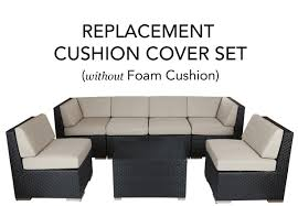 patio furniture slip covers. Complete Replacement Cushion Covers Intended For Outdoor Furniture Slipcovers Idea 5 Patio Slip R