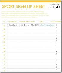 volunteer sign up sheet templates sign up chart template gulflifa co