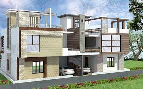 3D Home Plans, House Designs with Building Plans in Indian Style