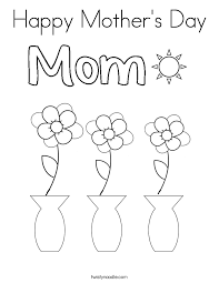 Small Picture Happy Mothers Day Coloring Page Twisty Noodle