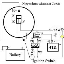 power alternatorwiring2 kubota alternator wiring schematic power wire gauge tool at Wire Gauge Diagram