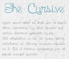 Cursive Handwriting Font Free Otf Ttf Format Download