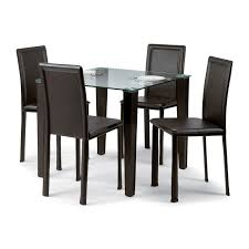 galaxy round clear glass dining table and 4 white chairs. cheap glass table and chair sets part - 35: square dining for galaxy round clear 4 white chairs s