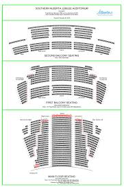 Calgary Southern Jubilee Auditorium Seating Chart 78 Matter Of Fact Southern Jubilee Auditorium Seating Chart