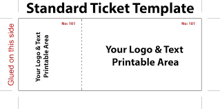 Template For Raffle Tickets To Print Free Raffle Ticket Maker Free Printable Template For Tickets With