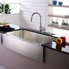 Elite Bath  Stainless Steel SFS30 Chameleon Farmhouse Kitchen Stainless Steel Farmhouse Kitchen Sinks