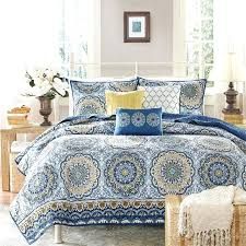 blue and yellow toile bedding large size of nursery and yellow shabby chic bedding also blue blue and yellow toile bedding