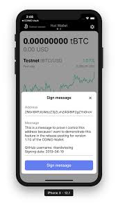 Demand, we are happy to announce that we have added the ability to ship your mail internationally using bitcoins at bitcoinpostage.info. Why You Should Use Sign Message In Your Crypto Wallet Coinid Highly Secure Bitcoin Wallet