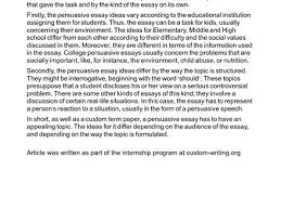 argumentative essay topics middle school persuasive essay 15 best images of personal narrative outline worksheet