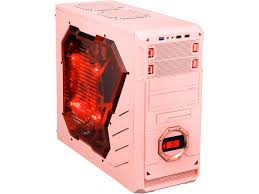 apevia x dreamer4 series pink computer case