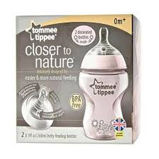 Tommee Tippee Pink Decorated Bottles Tommee Tippee Tommee Tippee Closer to Nature Decorated Bottle 100oz 84