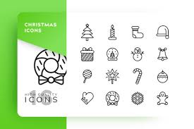 Christmas Icon Pack Graphic Free Download Freedownloadae