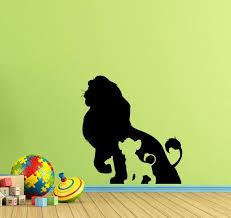lion king wall decal simba baby walt