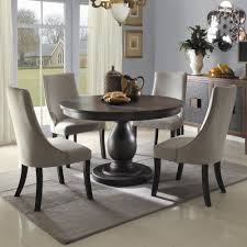 dining table round pedestal dining table set  pythonet home