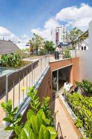 Ha Architecture Design Gardens Link Living Spaces In Ha House By Vo Trong Nghia