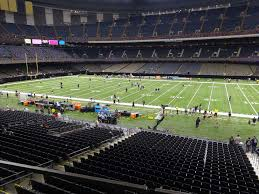 Mercedes Benz Superdome View From Club Level 259 Vivid Seats