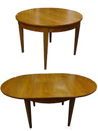 Esstisch Tisch Rund Biedermeier Stil Kirschbaum Furniert Ausziehbar