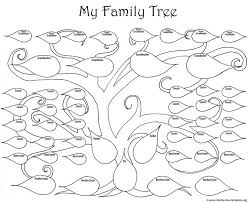Small Picture Best 25 Printable family tree ideas on Pinterest Tree designs