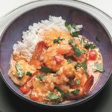 thai shrimp halibut curry recipe