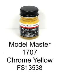 Model Master Enamel Paint Chart Pdf Model Master American Fs Enamel Paints Chrome Yellow 1707 D