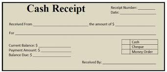 Money Bill Template Cash Receipt Template Cash Receipt Template In 2019 Receipt