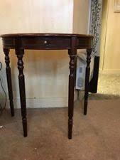 mahogany hall table. mahogany hall table with drawers