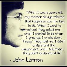 John Lennon Dream Quote Best of Life Lessons John Lennon Edition Love Stitched