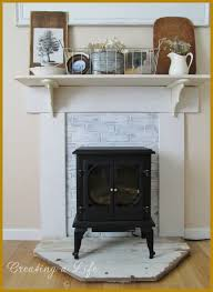 uncategorized fake fireplace diy the best diy fake fireplace mantel design ideas image for style and display trend