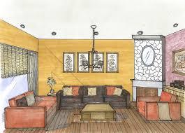 interior design hand drawings. Free Hand Rendering - Drawing, Interior Design Drawings A