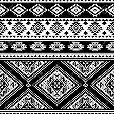 Native American Design Phone Cases Aztec Seamless Pattern Vector Native American Motifs Tribal