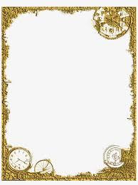 Picture Frame Design Png Corner Design Png Gold Frame Clipart Free Transparent