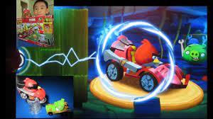 Angry Birds GO! Telepods Pig Rock Raceway - Teleport Karts into the App -  Unlock Super Roaster Code
